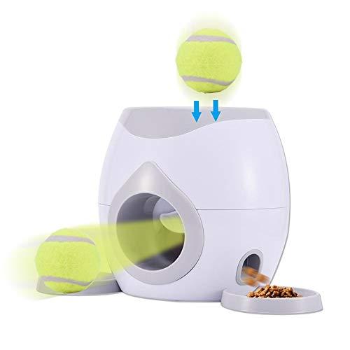 Pet Feeder Intelligenzspielzeug Ballmaschine Für Hunde Ballwurfmaschine Automatische Hund Ball Wurfmaschine Hund Tennis Food Belohnung Maschinenwerfer Interaktive Behandlung Langsam Feeder Spielzeug.