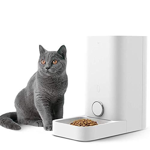 PETKIT Smart Futterspender für Katzen und Hunde/Automatische Futterautomat für Haustiere/Futterautomat Hochwertiger Spender mit Double Frisches Lock System, Capacity 2,8 Liter (Mini-Weiß)