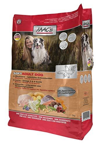 Macs Soft Geflügel 1 x 15 kg Hundefutter halbfeucht ohne Mais + Gluten