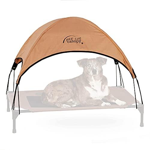 KH 771637 Original Pet Cot Canopy passend zum Large (Tan) - das Tierbett Wird separat verkauft