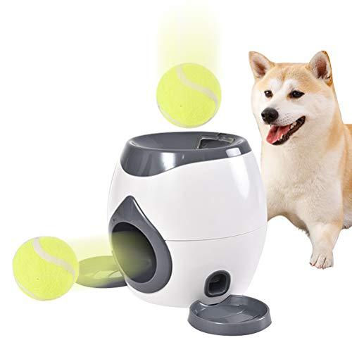 Egosy Dog Activity Memory Trainer Interaktives Spielzeug Für Haustiere Und Besitzer Tennisball Wurfgerät Trainingshaustier Ballwurfmaschine