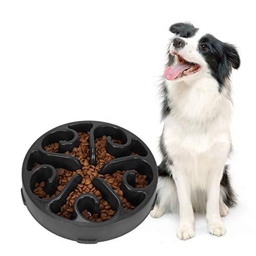 SUOSDEY Anti-Schling Napf Langsam Fressen Hundenapf Pet Fressnapf, rutschfest Interaktiv Ungiftig Spülmaschinenfest Fressnapf Slow Feeder Bowl für Hunde Haustier