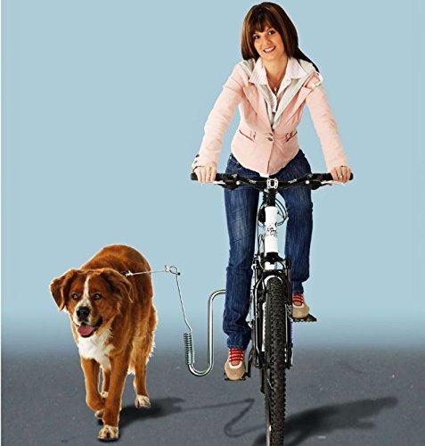 Kleinmetall DogRunner Fahrradhalter für Hunde - mit Adapter für alle Fahrradrahmen