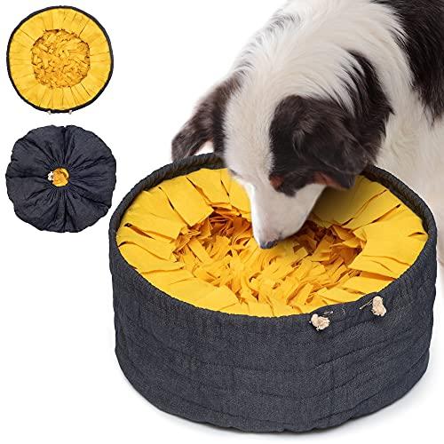 Lixdee Schnüffelteppich für Hunde zum Schnüffeln DEE.DEN – Hundespielzeug Intelligenz Schnüffeldecke Hunde Spielzeug Schnüffelspielzeug mit 3 Schwierigkeitsstufen – Intelligenzspielzeug – Waschbar