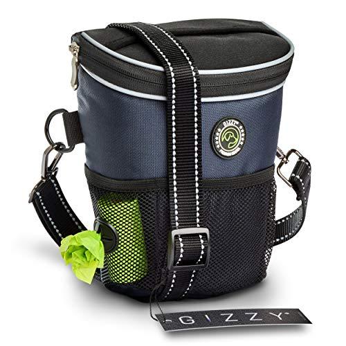 GIZZY® NEU - Premium Leckerlibeutel für Hunde - Innovative Einhand-Öffnung zur blitzschnellen Belohnung - Futterbeutel Hunde für Training & Welpenerziehung